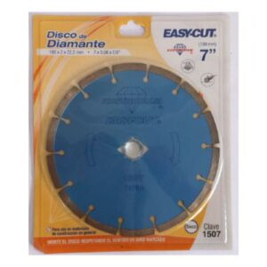"""Discos de diamante 4 1/2"""", 7"""" y 9"""""""
