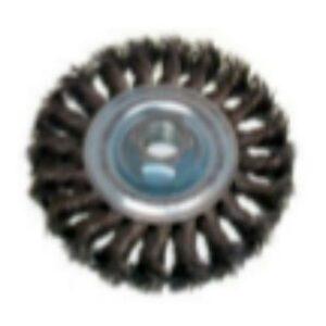 Carda trenzada circular
